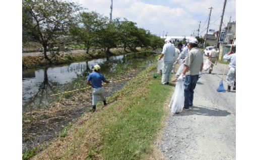 (1)ふるさとの緑と水辺再生事業