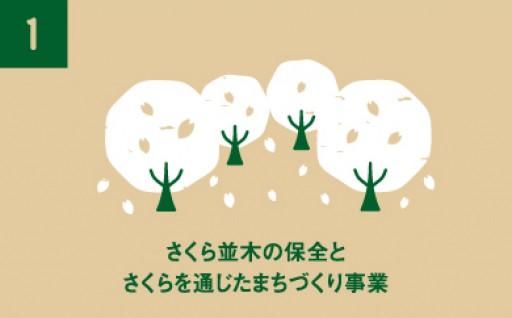 さくら並木の保全とさくらを通じたまちづくり事業