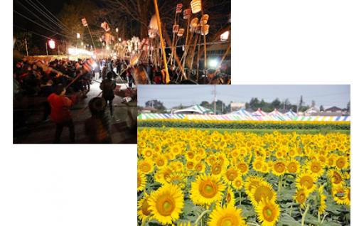 3.町の活性化、観光振興のための関連事業