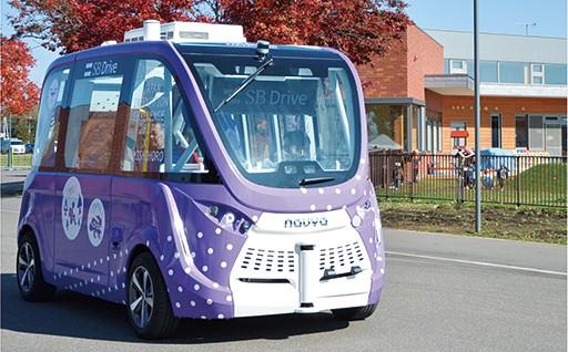 自動運転バス導入促進