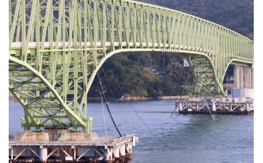 ⑩緊急!大島大橋外国貨物船衝突事故に対する「ふるさと寄附金」によるご支援