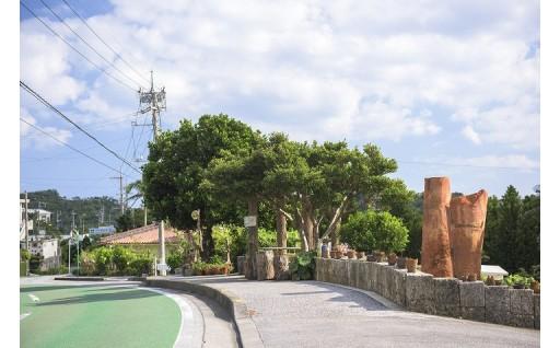 <ぐ> グスク周辺の景観美化や環境保全活動に取り組む事業