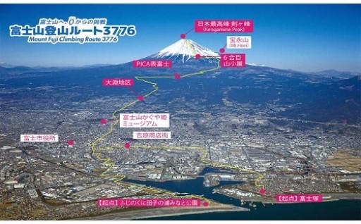 富士山登山ルート3776事業