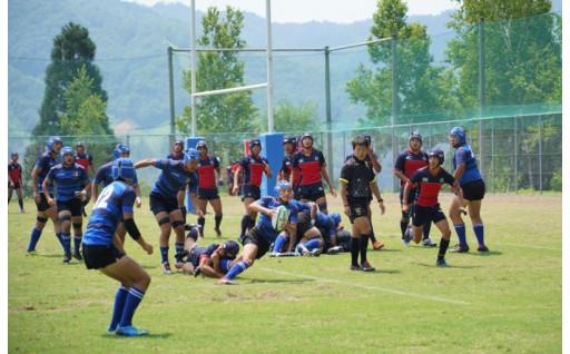 飛騨市で開催する関西中学生ラグビーフットボール大会への支援に関する事業