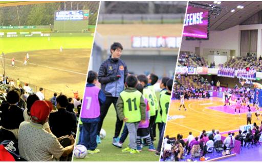 5 「ふるさとプロスポーツ応援寄附金」~地域密着型プロスポーツチームを応援する~